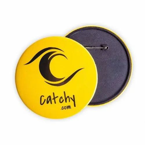 """BUTTON BADGE PIN /""""15/"""" RATING"""