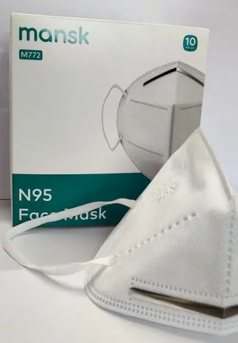 Mansk Disposable N95 Particulate Respirator Mask