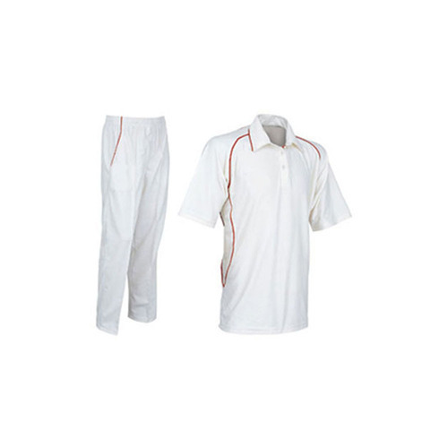 3a9dc0f58f8e Men White And Off-white Test Mens Cricket Uniform