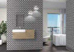 Elevation Gloss Bathroom Wall Tiles, 10 Pcs, Thickness: 10 mm