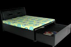 Metal Storage Bed