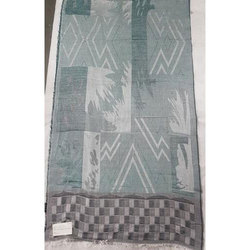 Polyester/Viscose Stripe Shawls