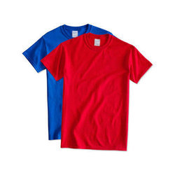 Plain Round Neck T-Shirt, Quantity Per Pack: 1