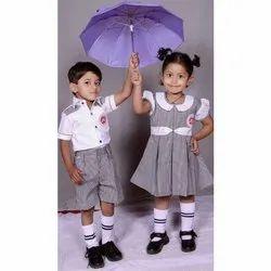 Half Sleeve Kids School Uniform
