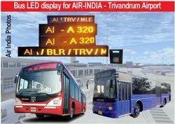 Fixo vision Bus LED Display, Dot Matrix, 230 V Ac