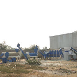 Plastic Chips Washing Plant