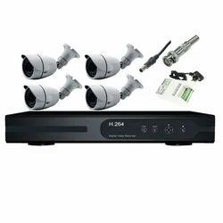 4 Bullet Camera Set