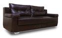 Adorn India Soleado 3 2 Sofa Set(Brown)