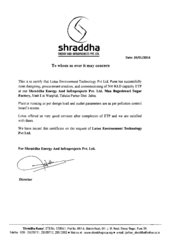 Shraddha Energy & Infraprojects Pvt. Ltd.