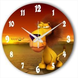 Printed Kids Wall Clocks