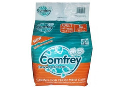 Comfrey Pant Style Adult Diaper L For Waist Size 30-39