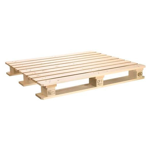 Rectangular Soft Wood CP 1 Wooden Pallet