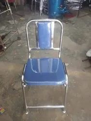 Stainless Steel Armless Chair