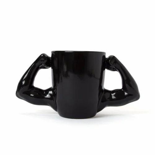 Super Muscle Hulk Clic Porcelain Tea Coffee Mugs Cups