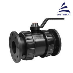 Automat Flanged PP Ball Valves, Size: 50 Mm
