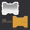 A292 Kovai Idole Rubber Paver Mould