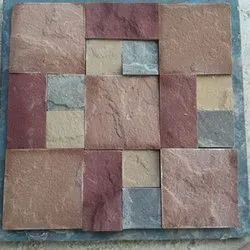 Multi Color Mosaic Dry, For Wall, Thickness: 6 - 8 mm