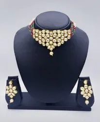 Kundan Necklace Jewellery