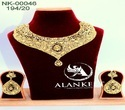 Gold Plated Necklace Jewellery