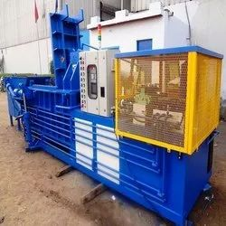 Double Action Hydraulic Scrap Baling Press Machine