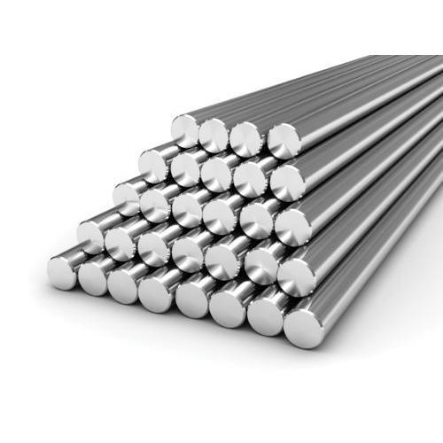 316 Stainless Steel Round Bar, Length: 6 m