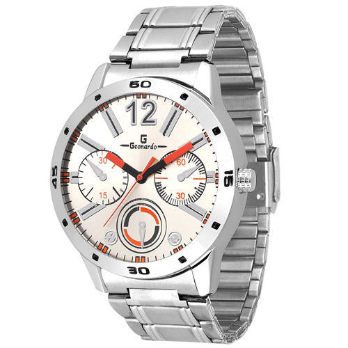 6c0e1396b White Dial Designer Chain Men s Watch at Rs 170  piece