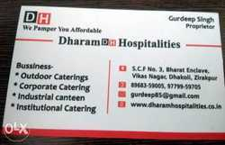 Industrial Catering And Health Catering Services