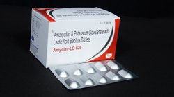 Amoxycillin Trihydrate ,Clavulanic Acid  & Lactic Acid  Tablets