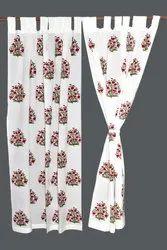 Indian Handblock Cotton Curtains