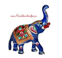 Trunk Up Elephant Statues