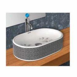 Oval Stylish Top Table Wash Basin