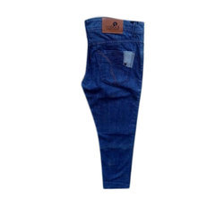 Plain Blue Mens Jeans