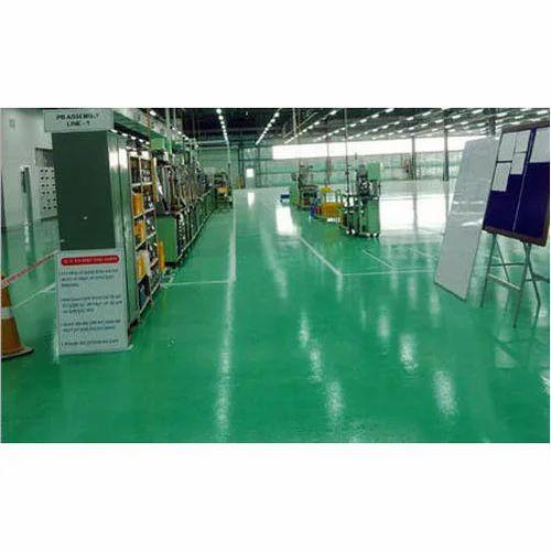 Epoxy Flooring Kerala: Showrooms Epoxy Flooring Service At Rs 85 /square Feet