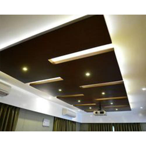 Laminated Wooden False Ceiling At Rs 230 Square Feet