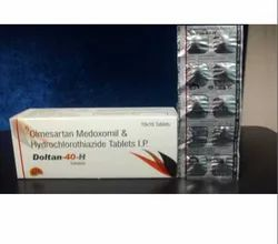 Olmesartan 40mg and Hydrochlorothiazide 12.5 Mg Tablets