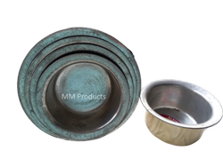 9 Pcs heavy base Bhagona Brass, Packaging Type: LOOSE, Round