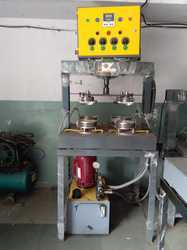 Manual four die Paper Plate Machine