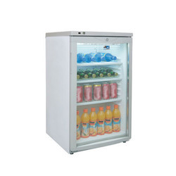 Single Glass Door Counter Top Upright Chiller