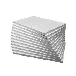Slab Rectangular 2.5 Inch White EPS Thermocol Sheet