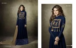R 11015 Embroidery Anarkali Dress