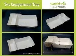 Two Compartment Paper Tray