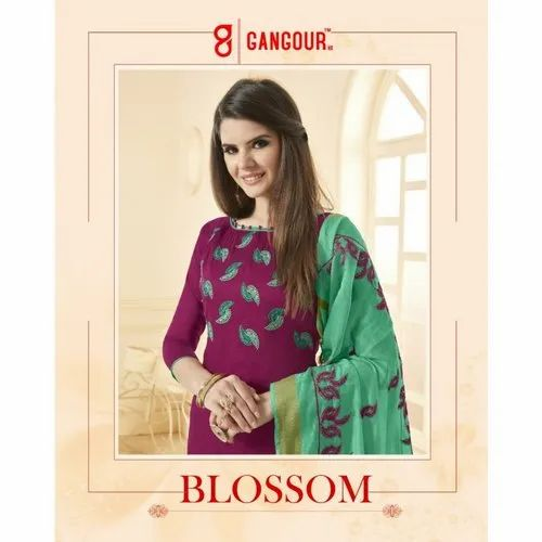 c63a949ad5 Dress Material - Shahnaz Arts Crystal Pure Cotton Dress Materials Exporter  from Surat