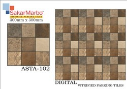 Asta-102 Digital Vitrified Parking Tiles