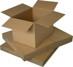Corrugated paperboard Brown Office Packaging Cartons