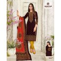 Deeptex Cotton Ladies Party Wear Churidar Suit, Handwash