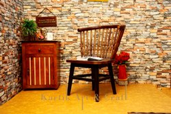 Brown Wooden Dining Chair, Size: 18 X 17 X 18 Inches