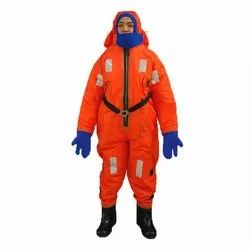 Orange Male Insulated Protective Suits, Size: Medium