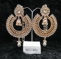 Kundan Chandbali Chandelier Fashion Earrings