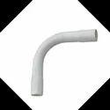 White PVC Electrical Bends
