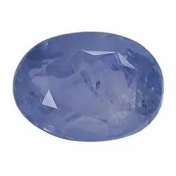 Pastel Blue Oval - Cut Natural Ceylon Blue Sapphire